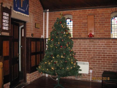 Hawkenbury at Christmas